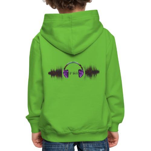 Clothing design (dance music) - Kids' Premium Hoodie