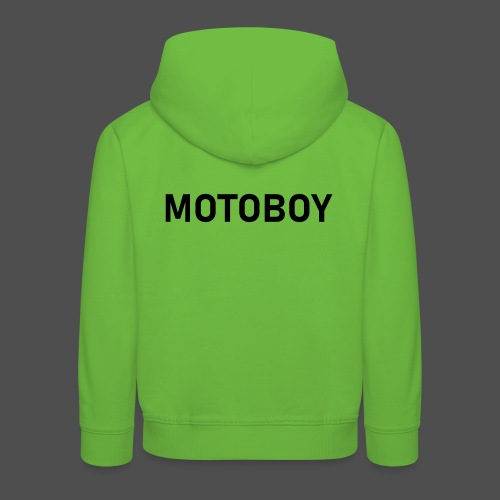 Motoboy - Bluza dziecięca z kapturem Premium