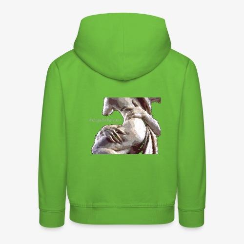 #OrgulloBarroco Rapto difuminado - Sudadera con capucha premium niño