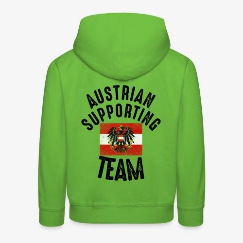 austria fussball team - Kinder Premium Hoodie