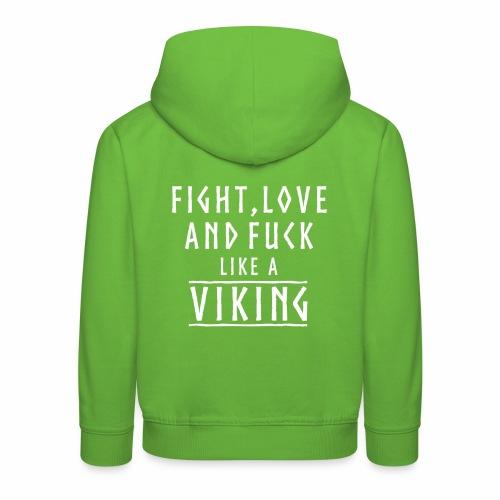 Like a viking - Sudadera con capucha premium niño
