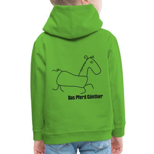 Das Pferd Günther - Kinder Premium Hoodie