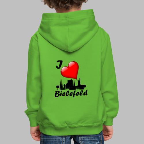i love bielefeld - Kinder Premium Hoodie