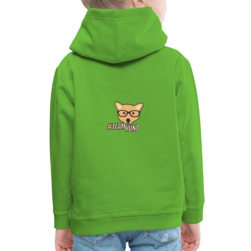 Team Hund | Hunde Design - Kinder Premium Hoodie