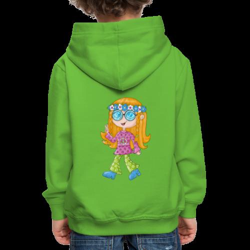 Hippie Girl - Kinder Premium Hoodie