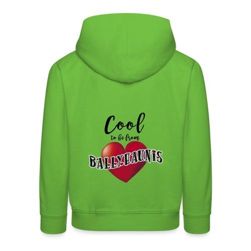 Ballyhaunis tshirt Recovered - Kids' Premium Hoodie