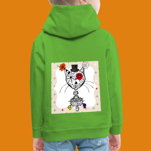cat color - Kids' Premium Hoodie