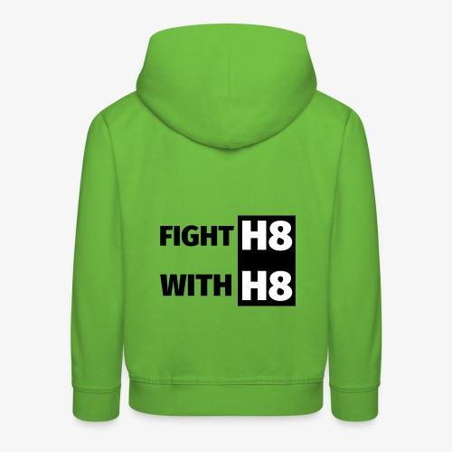 FIGHTH8 dark - Kids' Premium Hoodie
