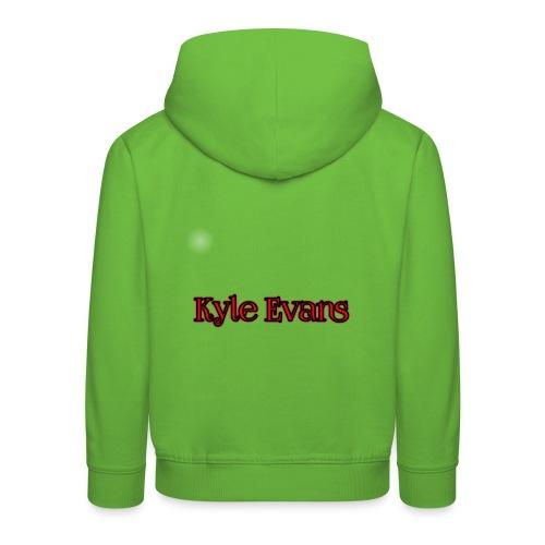 KYLE EVANS TEXT T-SHIRT - Kids' Premium Hoodie