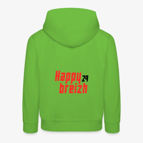 happy breizh 29 - Pull à capuche Premium Enfant