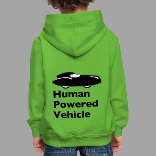 Quattrovelo Human Powered Vehicle black - Lasten premium huppari