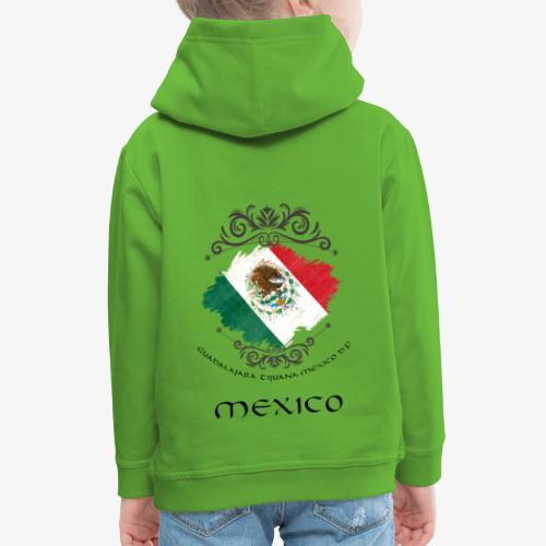 Mexico Vintage Bandera - Kinder Premium Hoodie