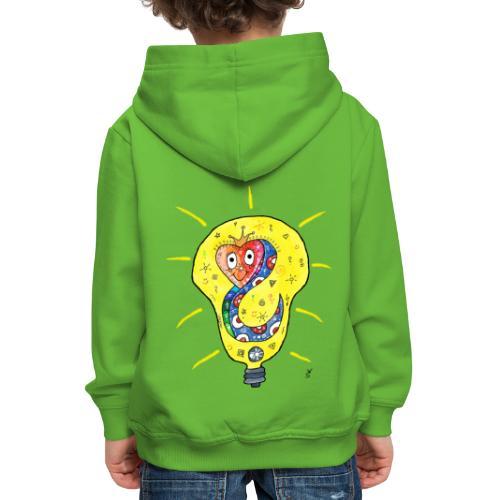 Happy Questionsnake - Kinder Premium Hoodie
