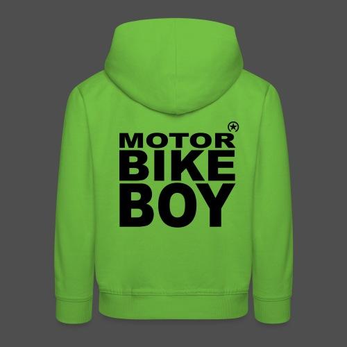 Motorbike Boy - Kinder Premium Hoodie