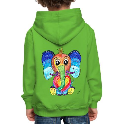 Happy Elephant - Kinder Premium Hoodie