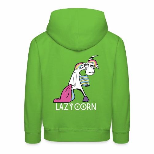 LazyCorn - Kinder Premium Hoodie