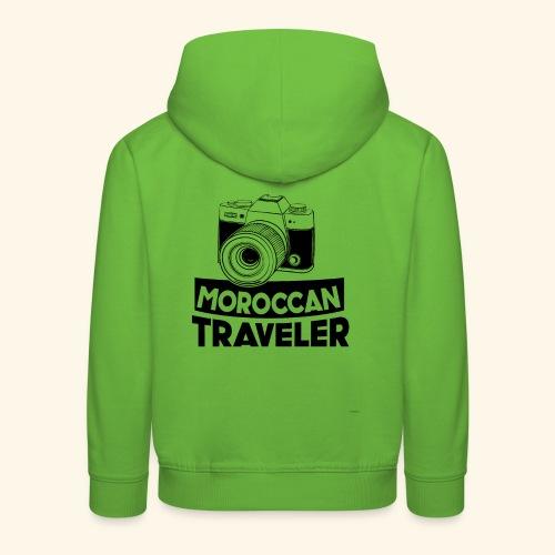 Moroccan Traveler - Pull à capuche Premium Enfant