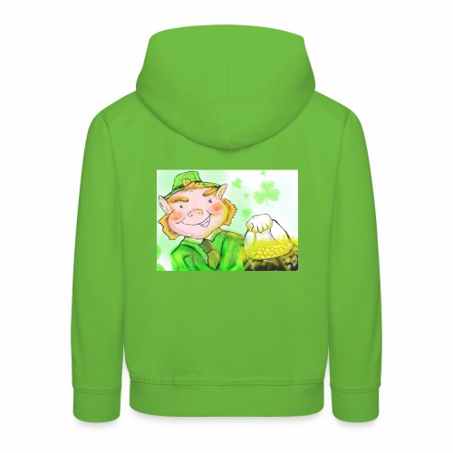 lenny the leprechaun - Kids' Premium Hoodie