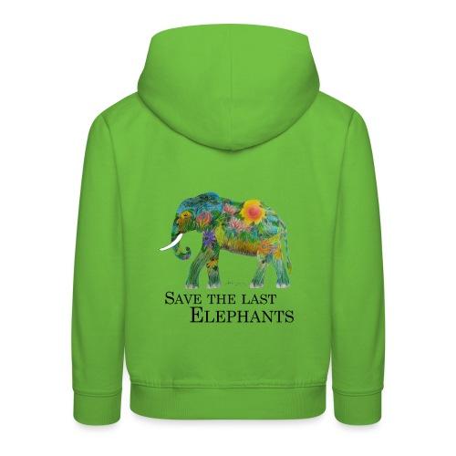 Save The Last Elephants - Kinder Premium Hoodie