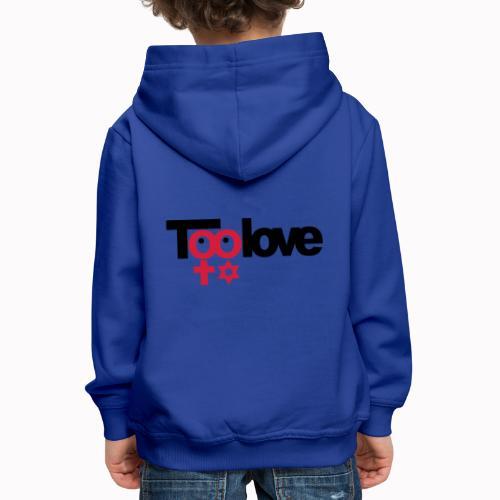 toolove ce - Felpa con cappuccio Premium per bambini