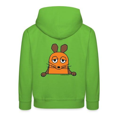 Die Maus guckt raus - Kinder Premium Hoodie