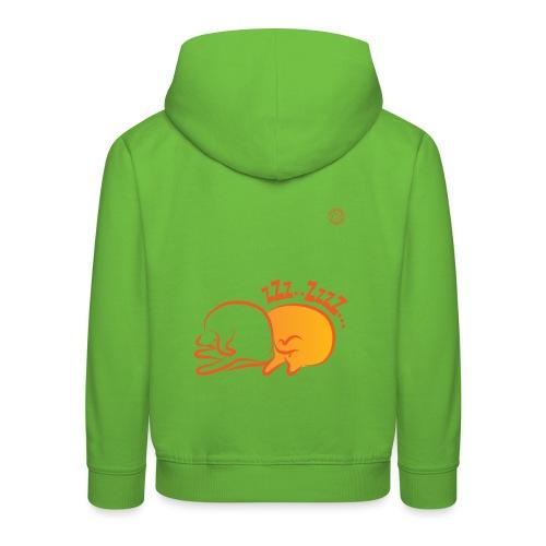 zzz 2 02 - Felpa con cappuccio Premium per bambini