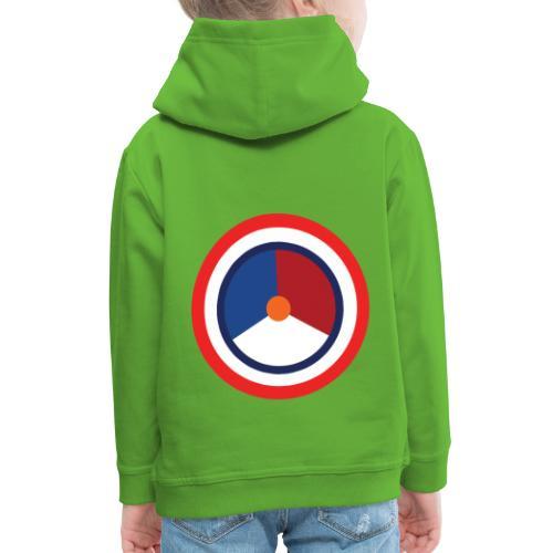 Nederland logo - Kinderen trui Premium met capuchon