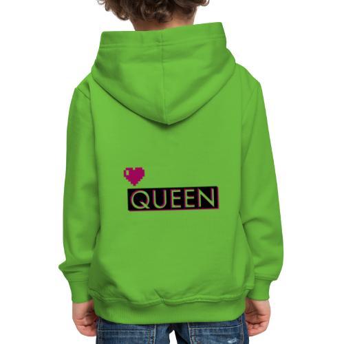 Queen, la regina - Felpa con cappuccio Premium per bambini
