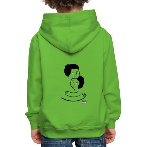 LYD 0002 00 Lieblingsmensch - Kinder Premium Hoodie