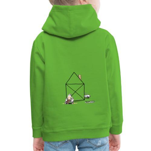 Stef 0003 00 Haus - Kinder Premium Hoodie