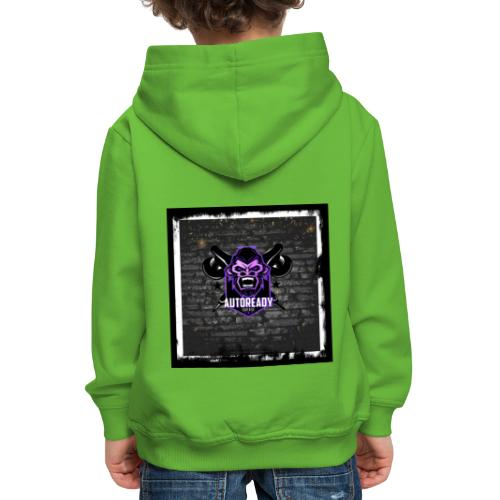 Readygarage0001 - Sudadera con capucha premium niño