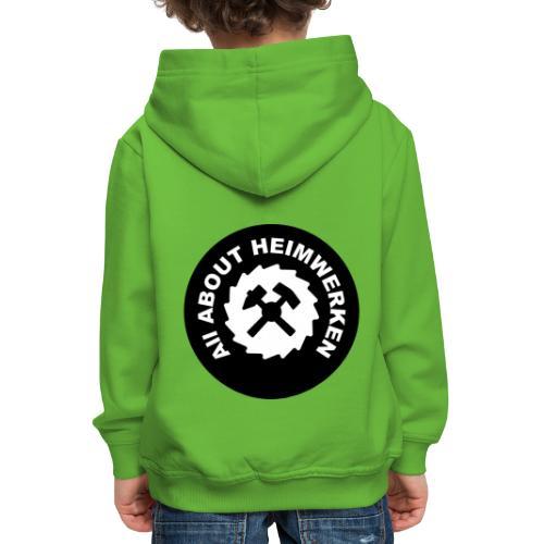 ALL ABOUT HEIMWERKEN - LOGO - Kinder Premium Hoodie
