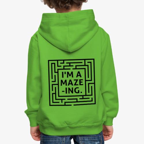 A maze -ING. Die Ingenieurs-Persönlichkeit. - Kinder Premium Hoodie