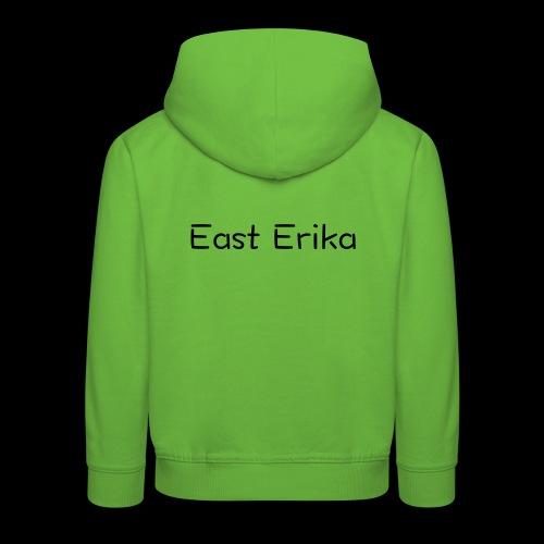 East Erika logo - Felpa con cappuccio Premium per bambini