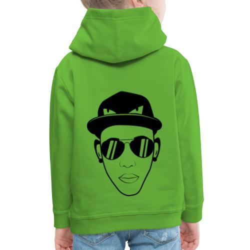 adhex cara - Sudadera con capucha premium niño
