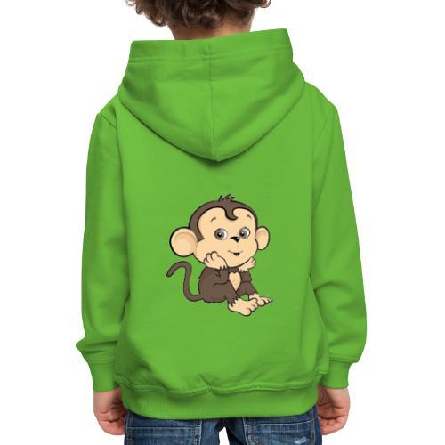 Monkey - Premium-Luvtröja barn