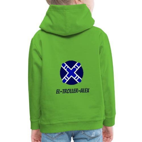 DISEÑO EL TROLLER ALEX EVO - Sudadera con capucha premium niño
