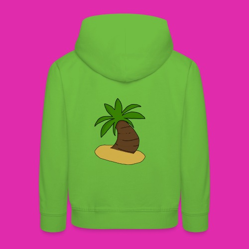 palm tree design - Kids' Premium Hoodie