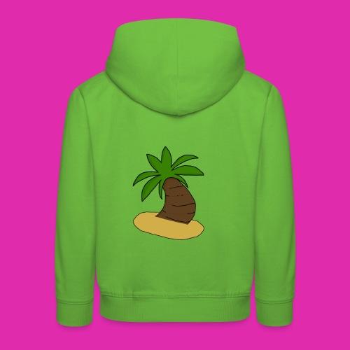 palm tree design - Kids' Premium Hoodie