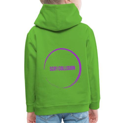 Purple Logo - Kids' Premium Hoodie