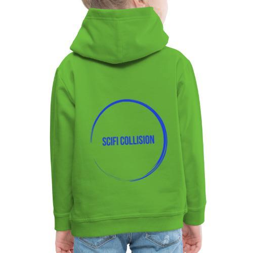 Dark Blue Logo - Kids' Premium Hoodie