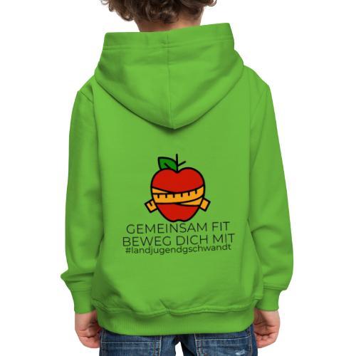 Gemeinsam FIT beweg dich MIT - Kinder Premium Hoodie