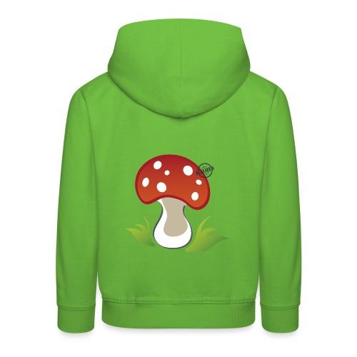 Mushroom - Symbols of Happiness - Kids' Premium Hoodie