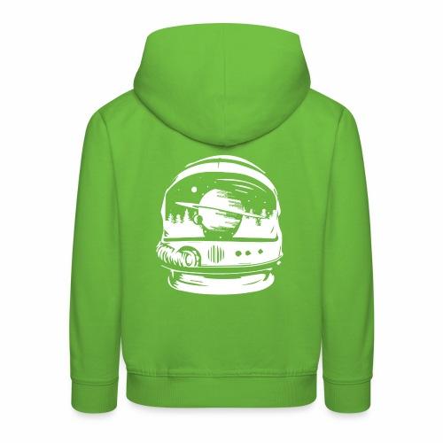 Woodspace Astronaut - Bluza dziecięca z kapturem Premium