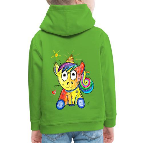 Happy Unicorn - Kinder Premium Hoodie