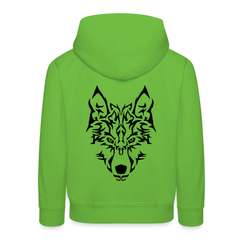 Tribal Wolf - Pull à capuche Premium Enfant