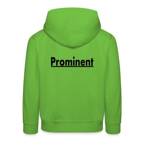 prominent promi Berühmtheit - Kinder Premium Hoodie