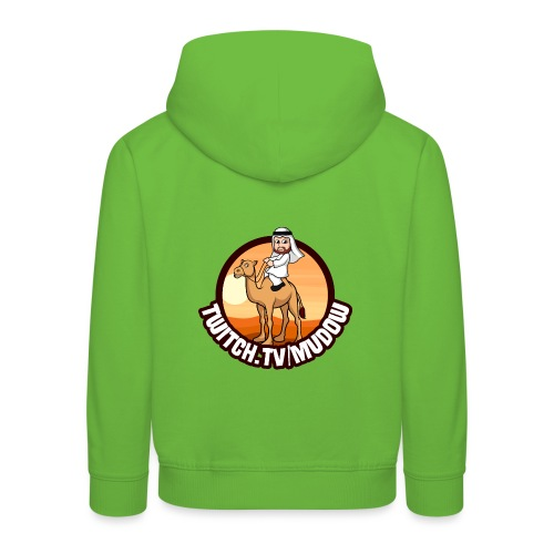mudowdesign - Premium hættetrøje til børn