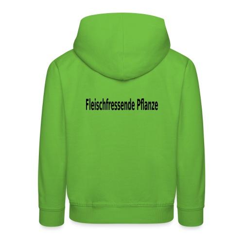 fleischfressende Pflanze Fleisch - Kinder Premium Hoodie
