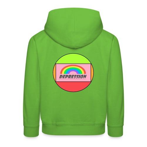 Depressed design - Kids' Premium Hoodie